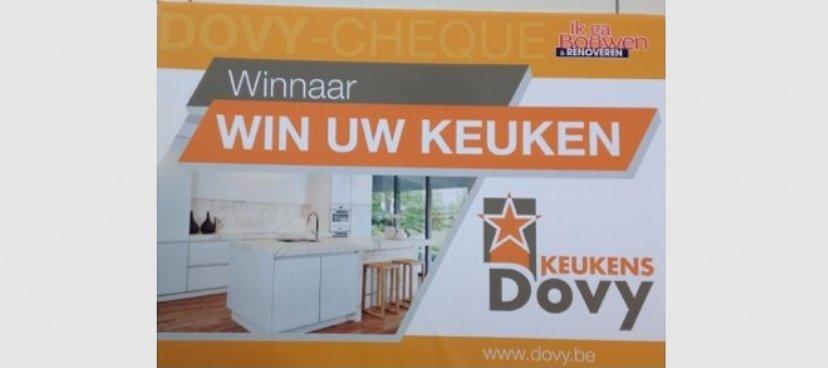 Winnaar wedstrijd 'Win een Dovy-keuken' i.s.m. Ik ga Bouwen
